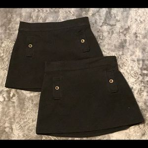 Gymboree size 5 black skirt w/ functional pockets.